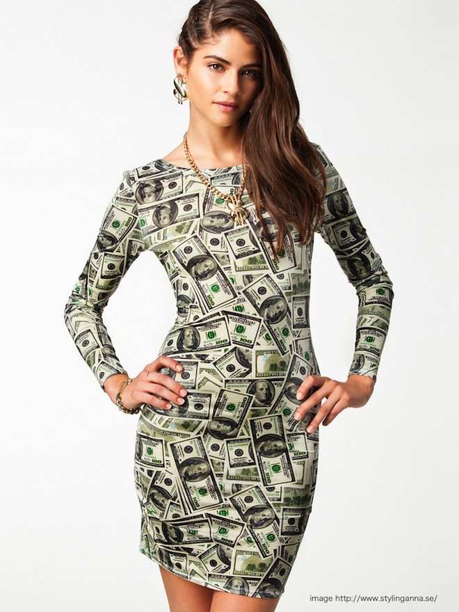 money dress1