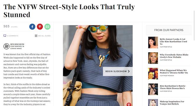 New York Street Style  Fashion Week 2014